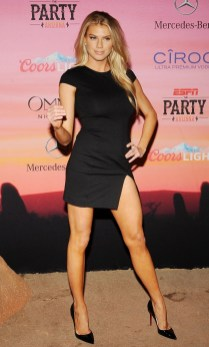 Charlotte McKinney - 12th Annual Leather and Laces Super Bowl Party Night - 03