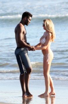 Charlotte McKinney Rehearses For Dancing With The Stars on Santa Monica beach - 10