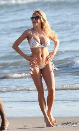 Charlotte McKinney Rehearses For Dancing With The Stars on Santa Monica beach - 14