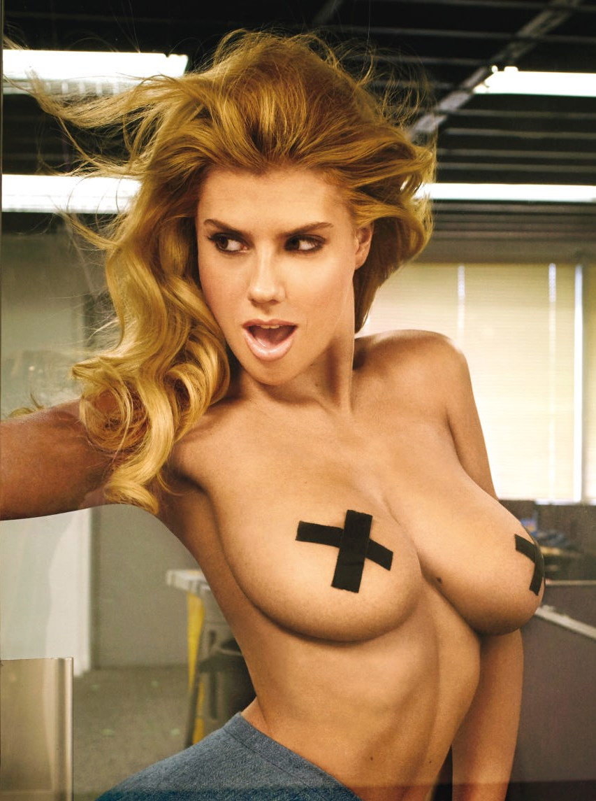 Charlotte McKinney - Top less in GQ comedy - 05
