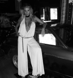Charlotte McKinney at The work of Chris Von Wangenheim book - 03