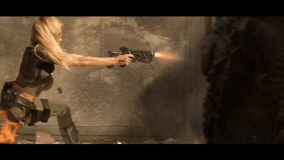 Charlotte McKinney on Carl's Jr. & Call of Duty Black Ops 3 Commercial - 03