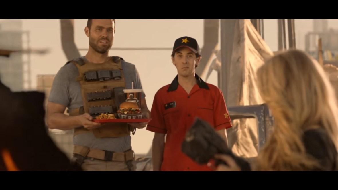Charlotte McKinney on Carl's Jr. & Call of Duty Black Ops 3 Commercial - 05