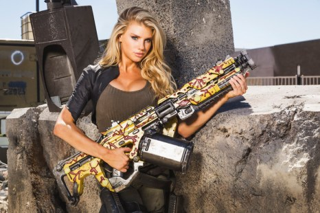 Charlotte McKinney on Carl's Jr. & Call of Duty Black Ops 3 Commercial - 14