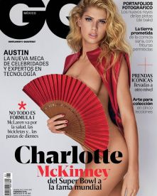 Charlotte McKinney - Cover GQ Mexico Magazine February 2016 - 01