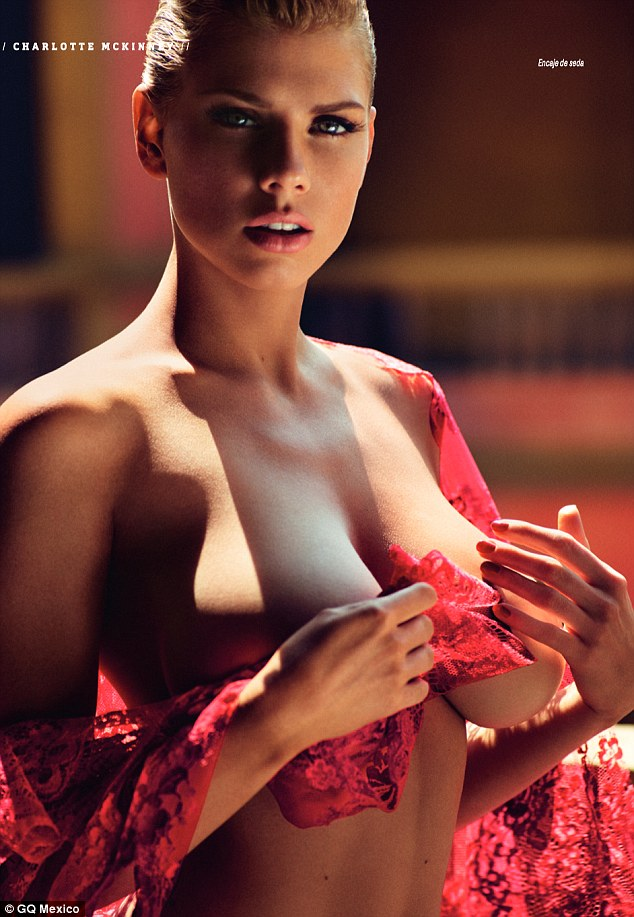 Charlotte McKinney - Cover GQ Mexico Magazine February 2016 - 03
