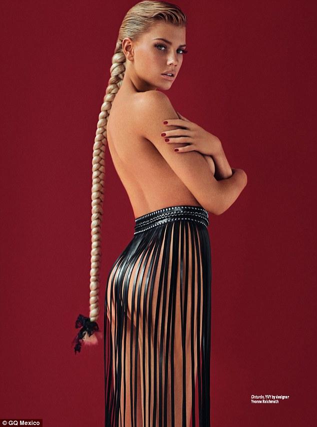 Charlotte McKinney - Cover GQ Mexico Magazine February 2016 - 09