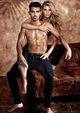 Charlotte McKinney and Joe Jonas strip off for sexy new Guess underwear campaign - 04