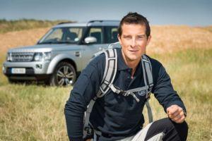 bear grylls & Land Rover