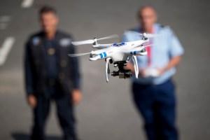 essais en vol du drone