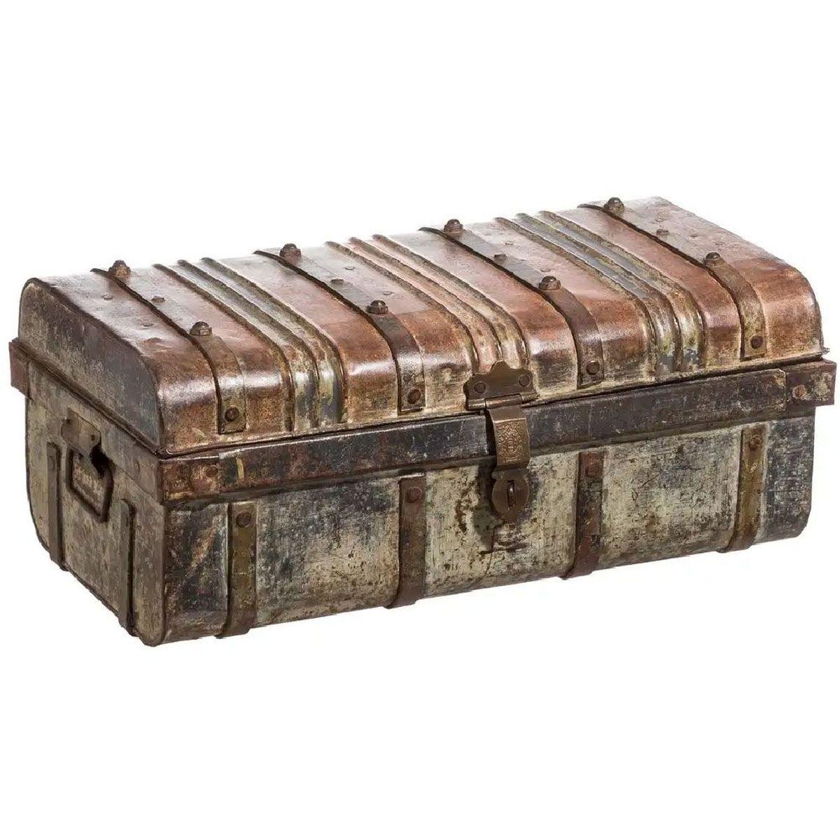 malle coffre rangement mobilier bois