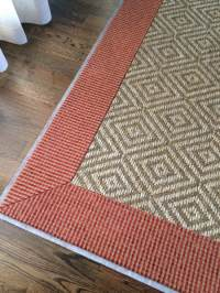 Carpet Binding Sisal Binding for Custom Rugs Charlotte NC ...