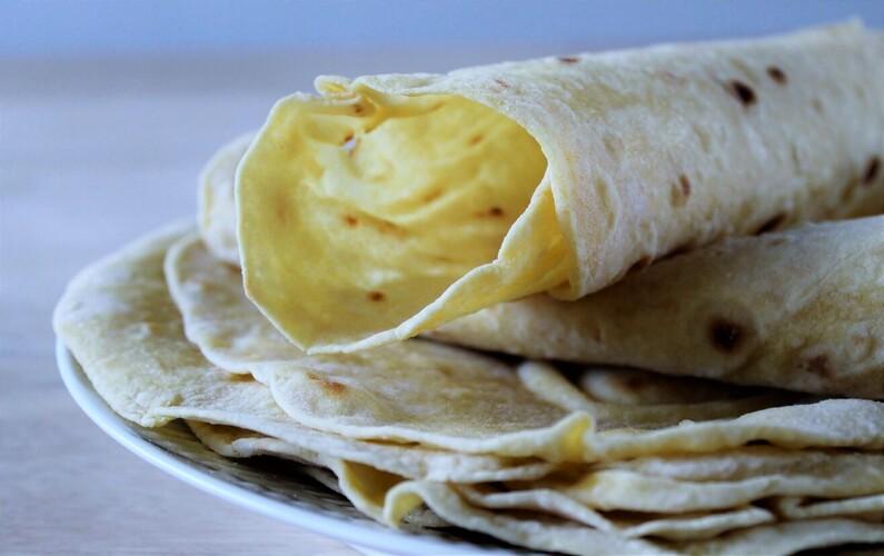 Hjemmelavede tortillas