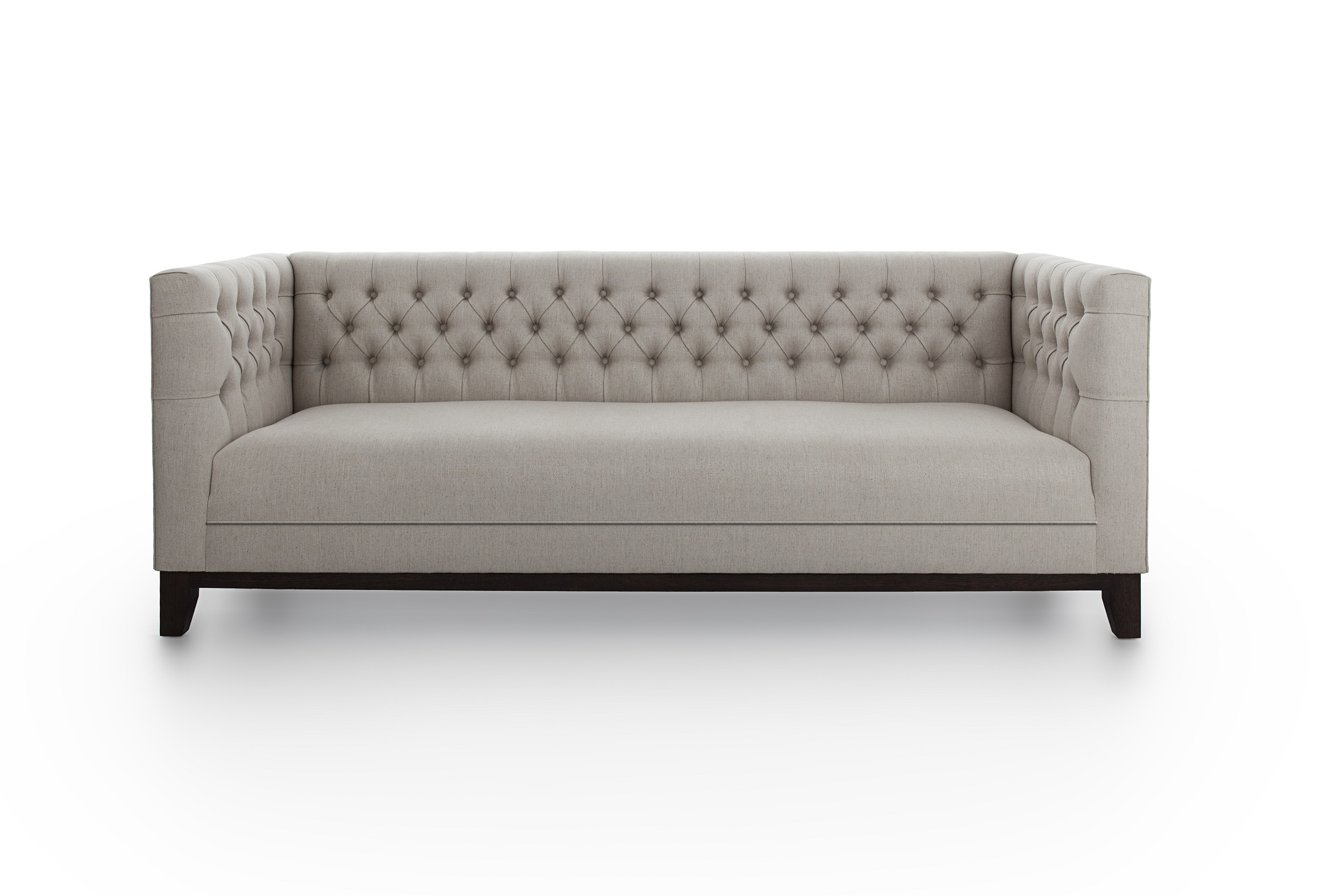 chloe velvet tufted sofa living room furniture collection highly sprung sofas 3 2 1 suite of piece suites
