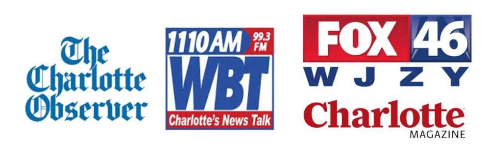 The Charlotte Observer, WBT, Fox 47 WJZY Charlotte Magazine