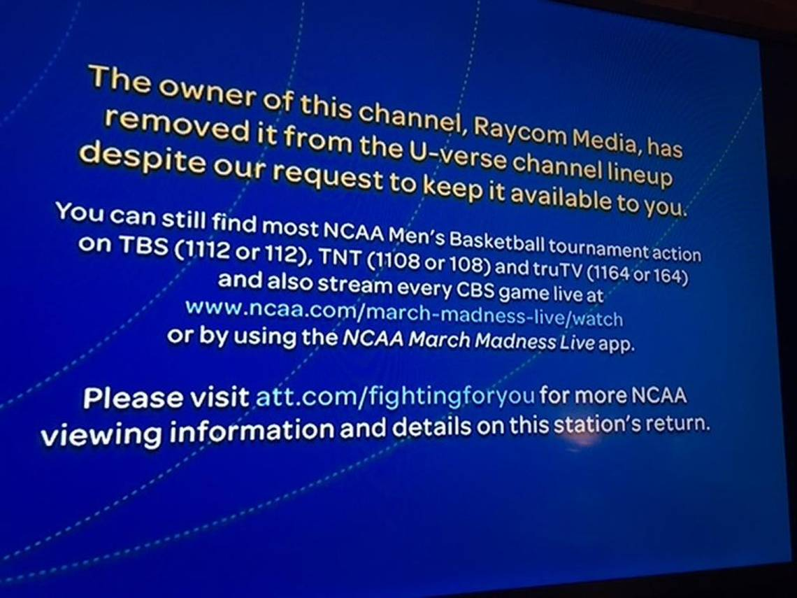 hight resolution of raycom says no to u verse demand to end blackout for unc game charlotte observer