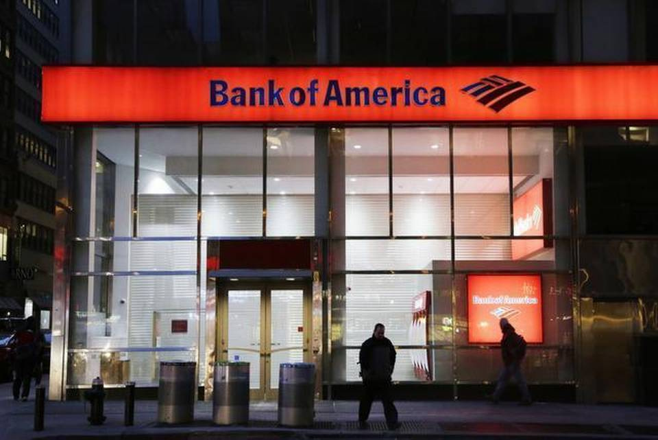 A Bank of America shareholder is calling on the bank to examine ways to break itself into multiple companies.