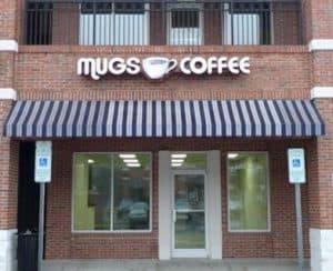 mugs coffee building