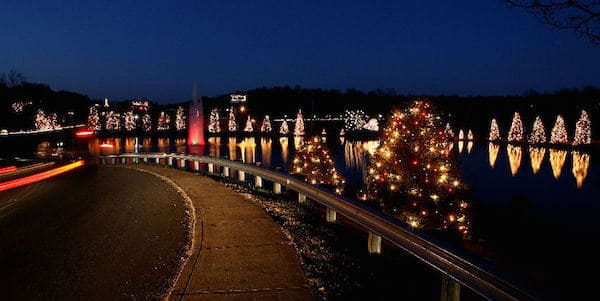 Mcadenville Christmas Lights.Visit Christmas Town Usa Mcadenville Charlotte On The Cheap