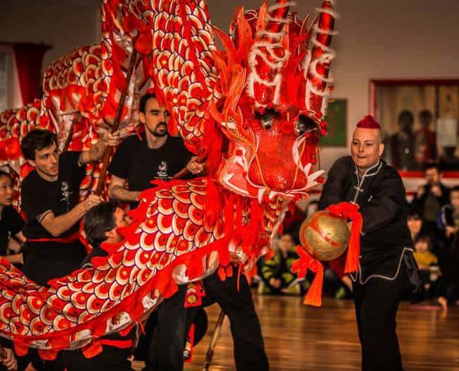 Chinese New Year Celebration at The Peaceful Dragon (free with food donation)
