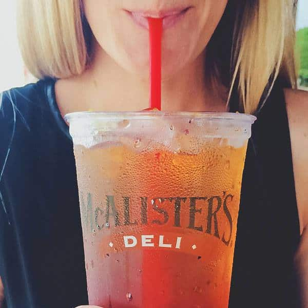 mcalisters free tea day