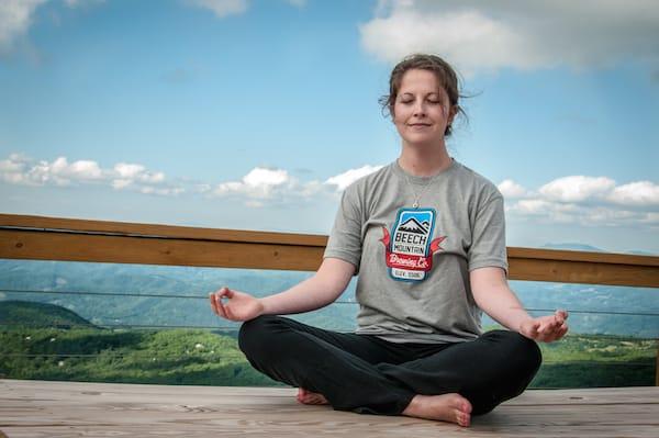 yoga beech mountain