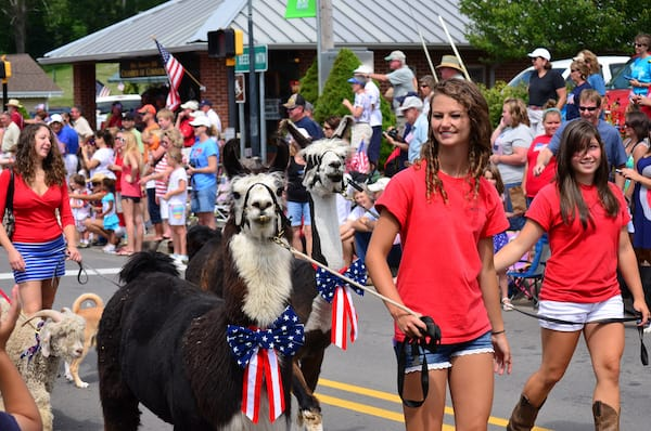 Banner Elk 4th Parade - CREDIT Todd Bush