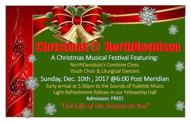 Free Christmas concert at NorthDavidson - Charlotte On The Cheap