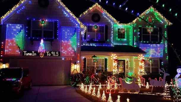 Christmas Lights On Houses.Best Christmas Light Displays In The Charlotte Area 2018