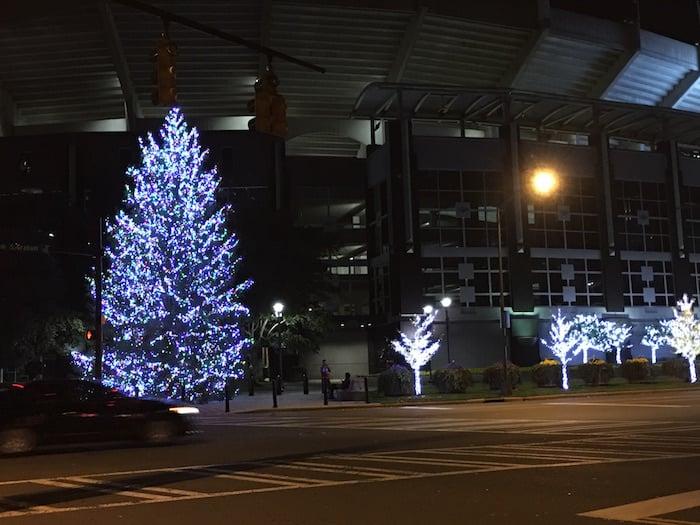 Birkdale Christmas Tree Lighting 2021 Carolina Panthers Tree Lighting Celebration November 26 Charlotte On The Cheap