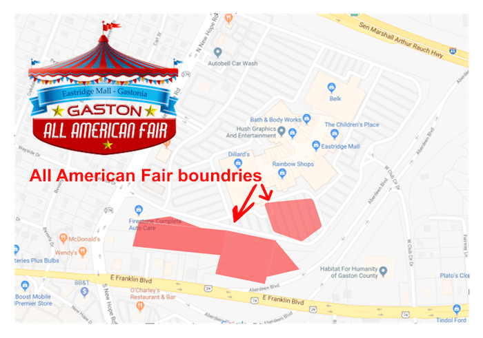 gaston all american fair map - Charlotte On The Cheap on all the states of america, all japan map, all colonies map, all america list, all asia map, all europe map, all european countries map, all america cities, all mountains map, all constellation map, all us national parks map, american map, all the continents map, all alabama map, all states map,