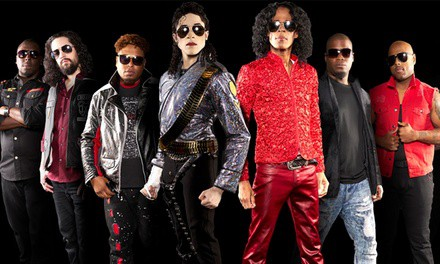 Who's Bad: The Ultimate Michael Jackson Tribute Band on Saturday, February 1, at 8:00 p.m.