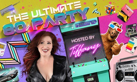 Ultimate 80's Party featuring Tiffany on Saturday, January 4, at 8 p.m.