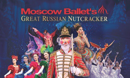 """Moscow Ballet's """"Great Russian Nutcracker"""" with Souvenirs on December 29 at 1 p.m. or 5 p.m."""