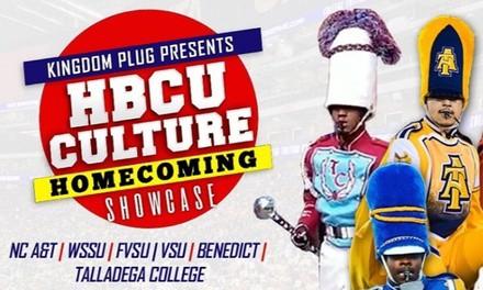 HBCU Culture Homecoming Band Showcase on November 10 at 5 p.m.