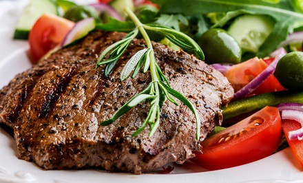 Steak and Seafood at Choplin's Restaurant (Up to 50% Off).