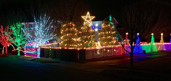 Laser Show Kannapolis Nc 2020 Christmas Best Christmas light displays in the Charlotte area   2020