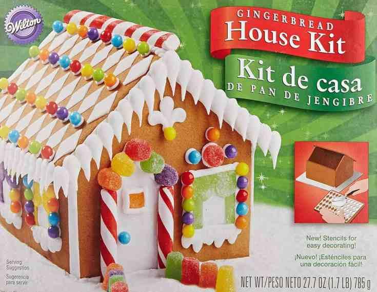 Wilton Pre-Baked Gingerbread House Kit, Petite