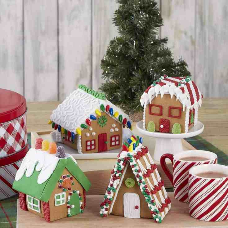 Gingerbread House Kit Build It Yourself Mini Village