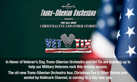 """Trans-Siberian Orchestra Presents The All-New """"Christmas Eve and Other Stories"""" Concert on Saturday, December 7"""