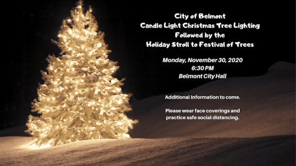 Candle Light Christmas Tree Lighting and Festival of Trees in