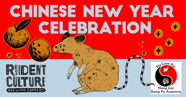 Lunar New Year Celebration at Resident Culture Brewing Company