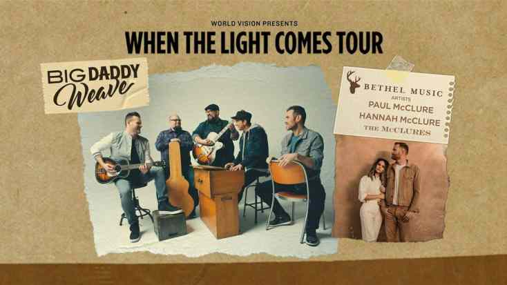 Big Daddy Weave: 'When the Light Comes' Tour