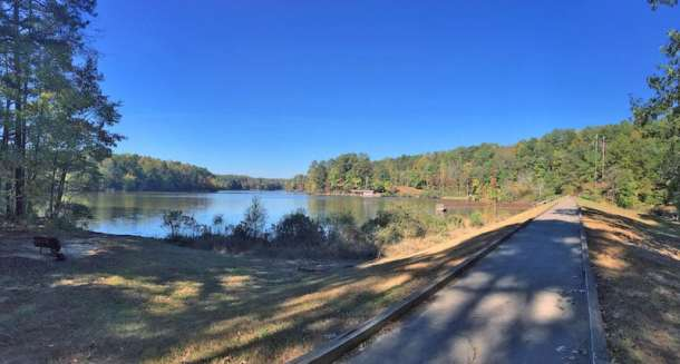 Umstead State Park lake