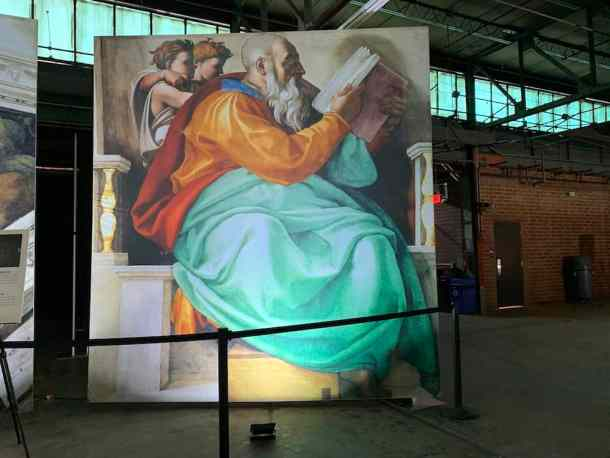 Sistine Chapel Exhibition Charlotte