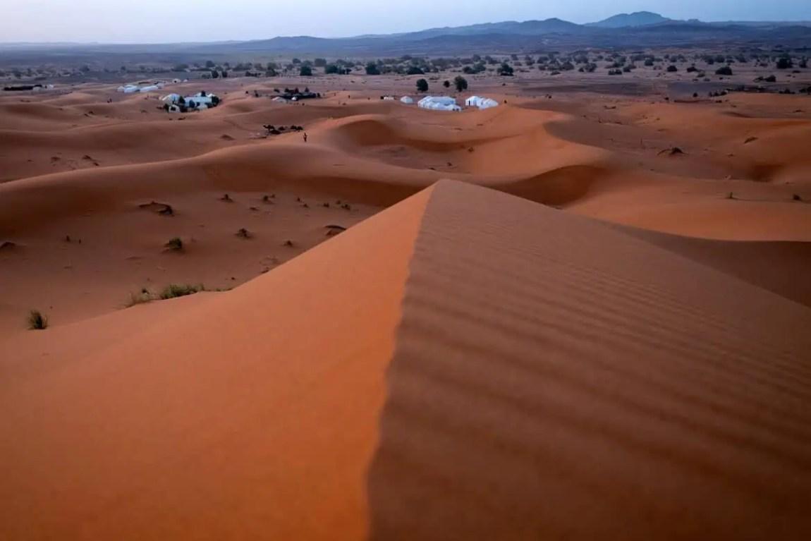 Piste du désert de Merzouga