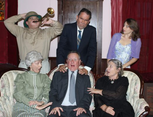 Brewster family in character
