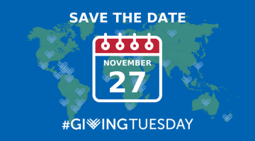 #GivingTuesday - Save the Date
