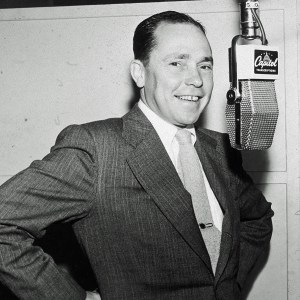 Lyricist and composer Johnny Mercer.