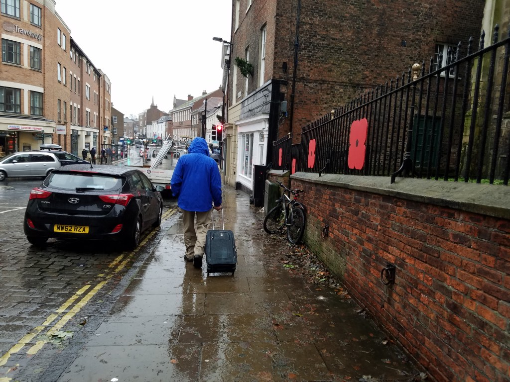 York in the Rain